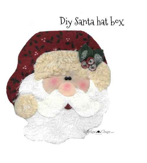 diy santa felt craft