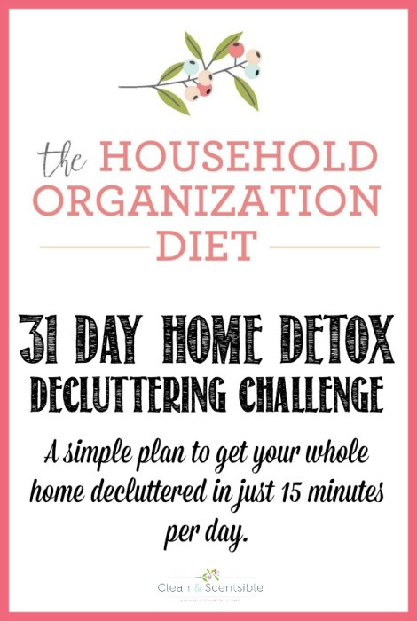 home declutter challenge