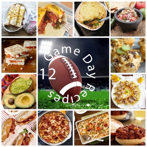12 game day recipes