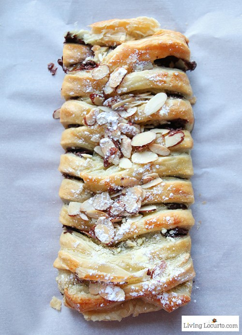 braided pastry
