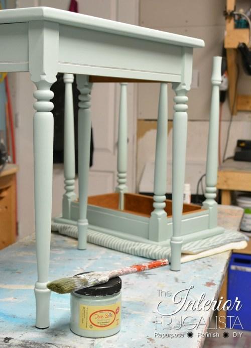 nesting table makeover