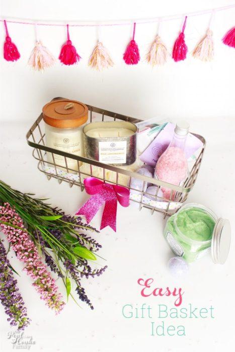 diy bath gift basket
