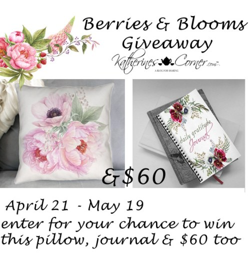 berries blooms giveaway