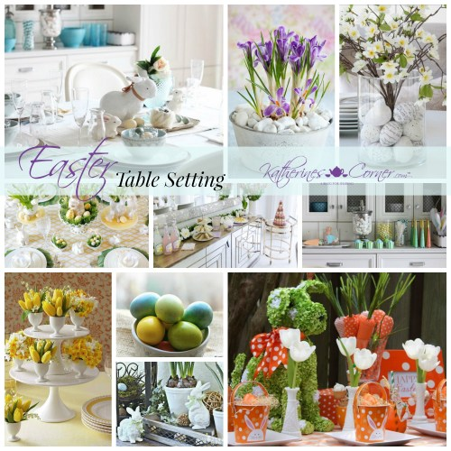 make your Easter table beautiful with these table setting tips