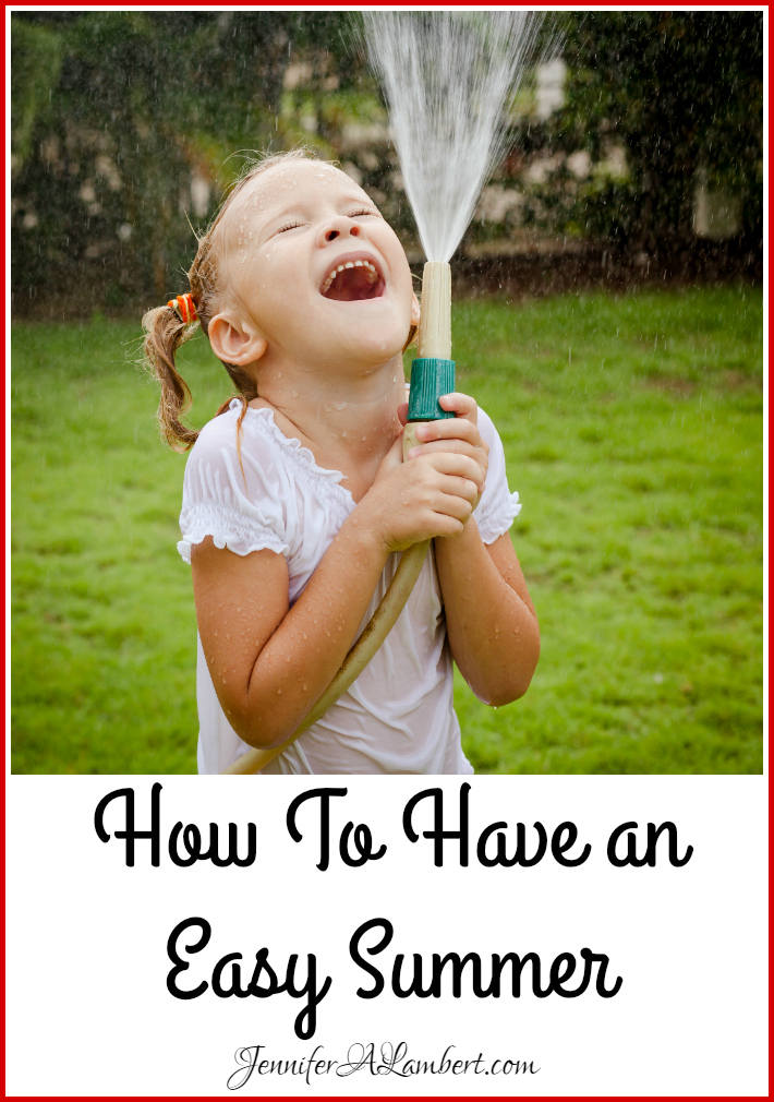 tips for having a fun summer for children and families