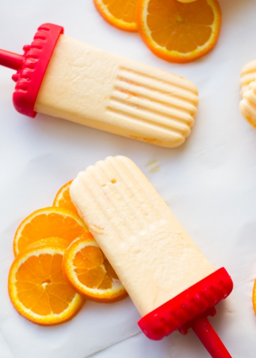 homemade creamsicle