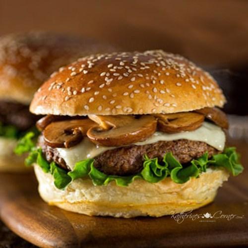 mushroom burger katherines corner