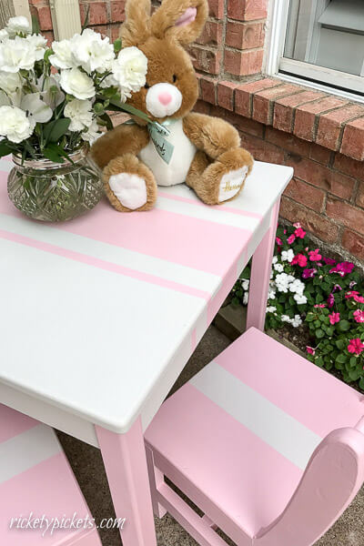 little girls table diy