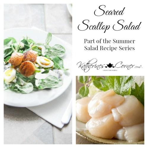 seared scallop salad