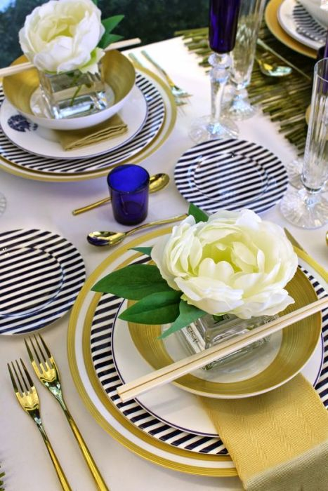 chinese food tablescape