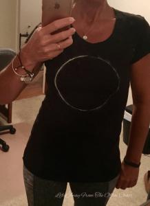 diy eclipse tee shirt
