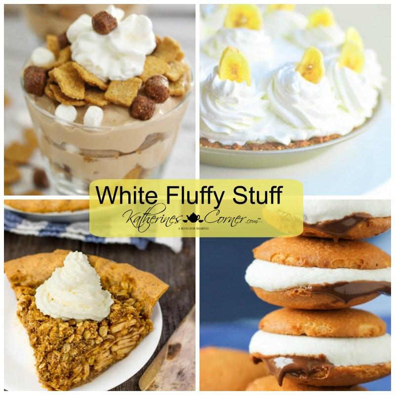 white fluffy stuff