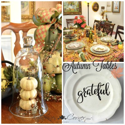 Autumn Table Monday Inspirations