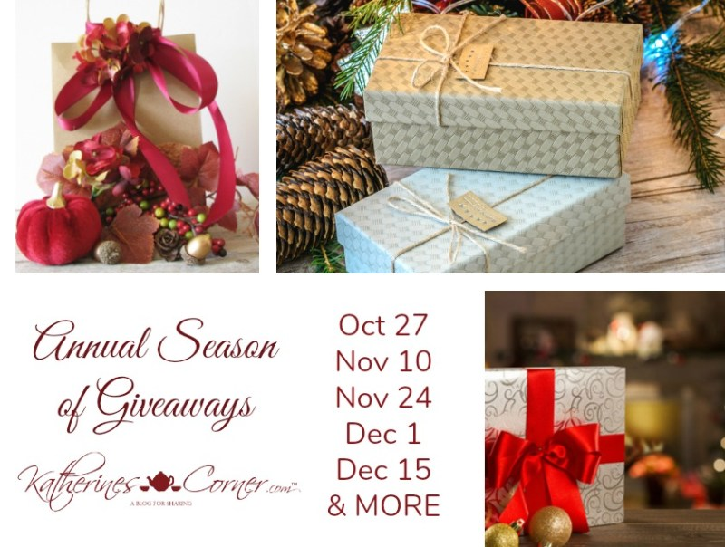 annual season of giveaways