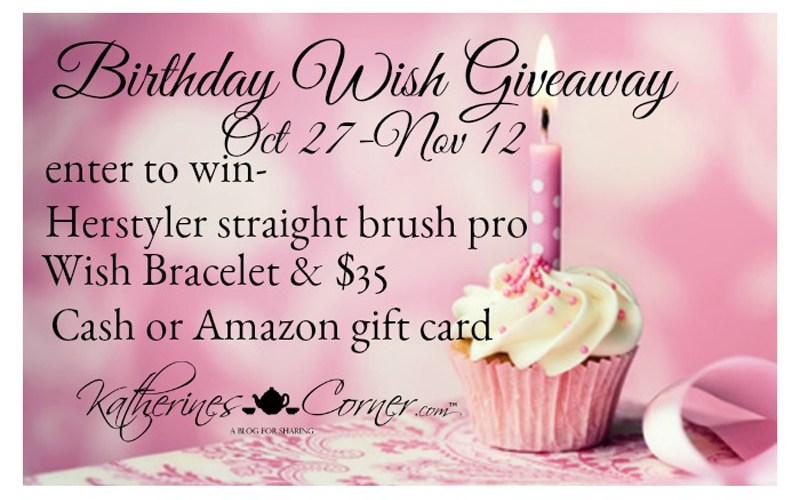 birthday wish giveaway