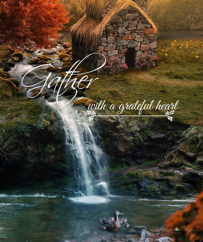 gather autumn free printable
