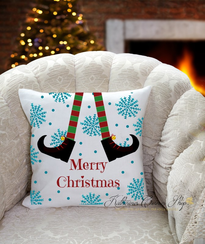 christmas elf pillow from katherines corner shop
