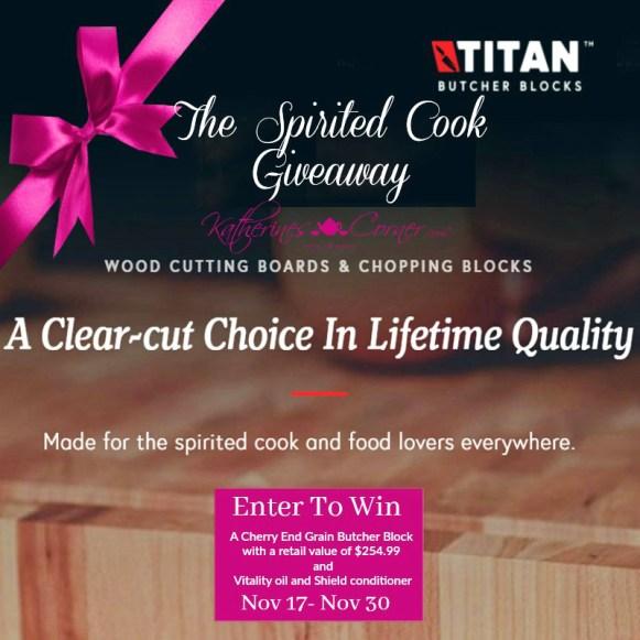 spirited cook giveaway