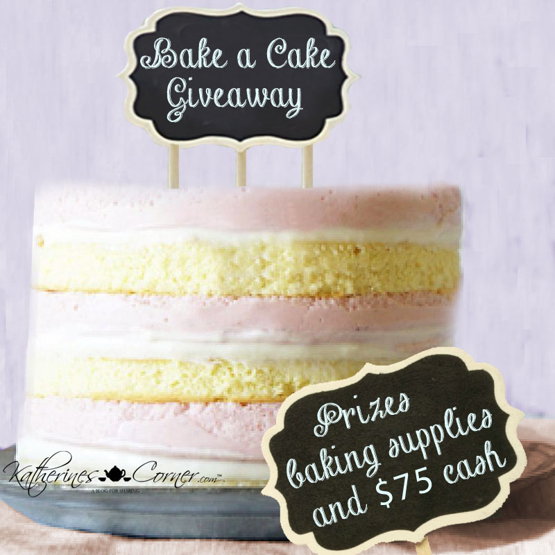 Bake A Cake Giveaway 2018