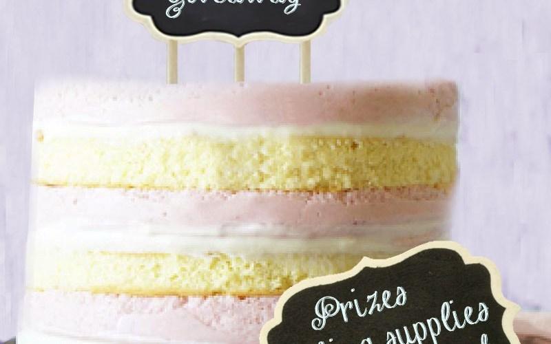 bake a cake giveaway