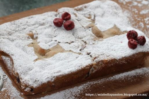 cherry white chocolate blondie recipe