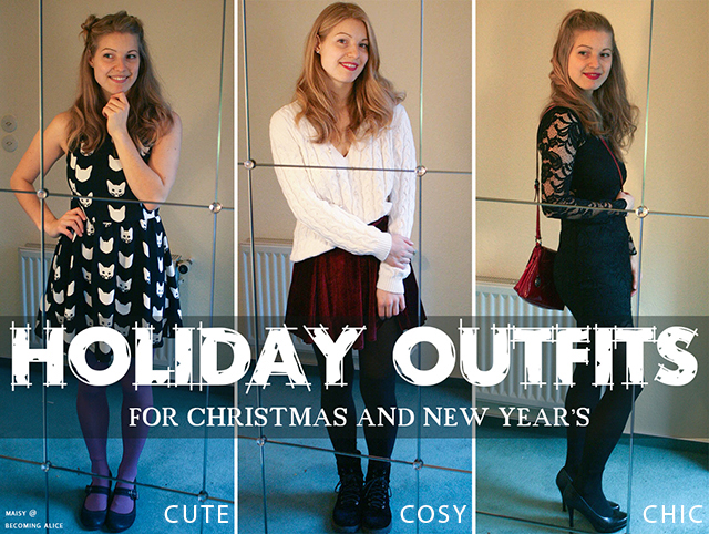 3 holiday outfits