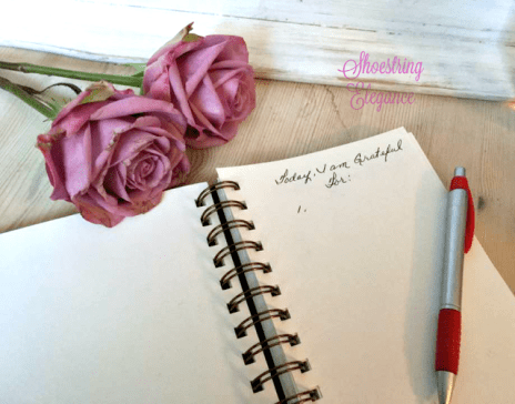 how to start a gratitude journal