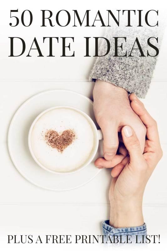50 great romantic date ideas