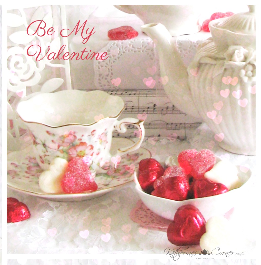 valentines day teacup and heart candy katherines corner