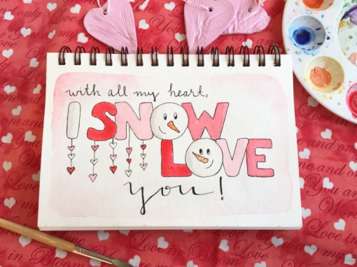 i snow love you