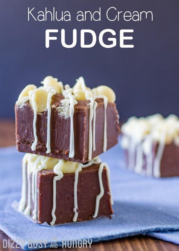 kahula and cream fudge