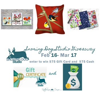 Snoring Dog Studio Giveaway