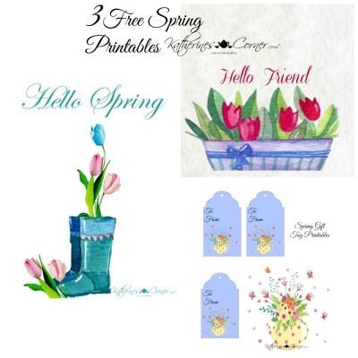 springtime free printables