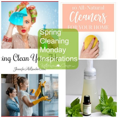 Spring Cleaning Monday Inspirations