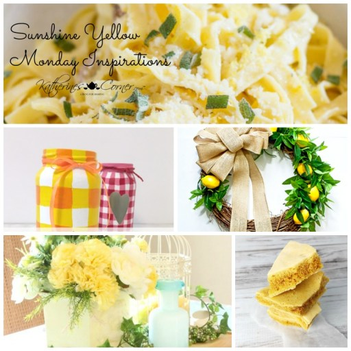 Sunshine Yellow Monday Inspirations