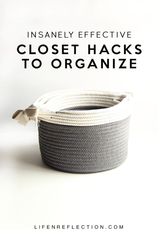5 tips to organize your linen closet