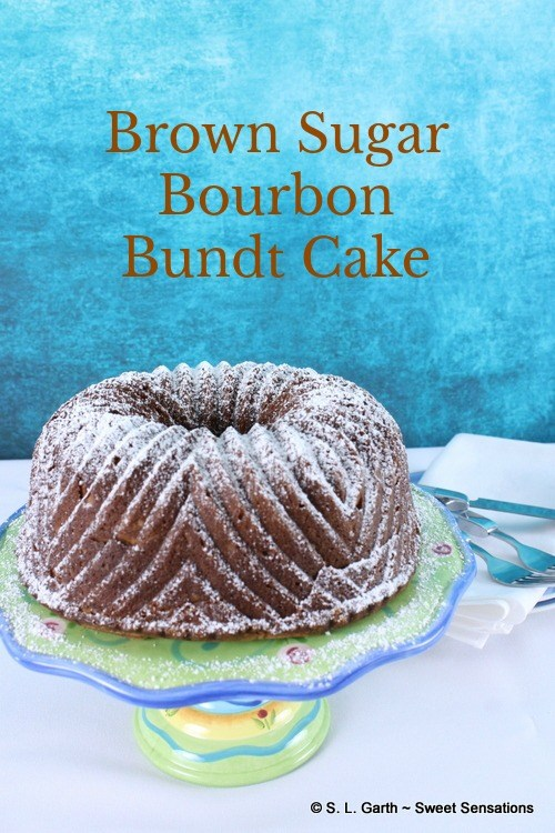 brown sugar bourbon cake