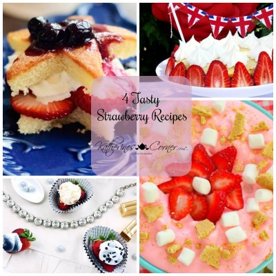 4 tasty strawberry recipes
