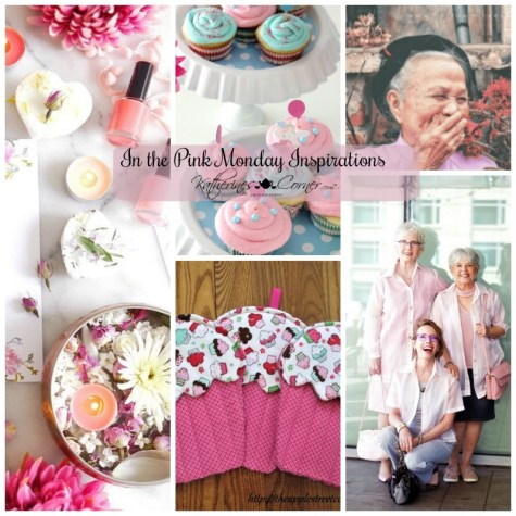in the pink monday inspirations
