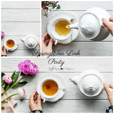 Spring Tea Link Party