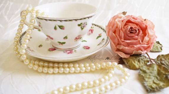 rose chintz teacup