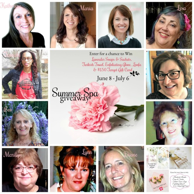 Summer Spa Giveaway Hostesses