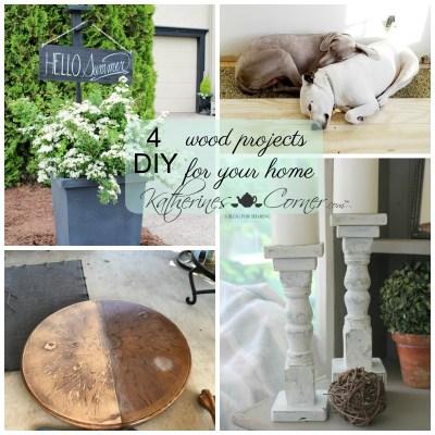 Wood You DIY Monday Inspirations