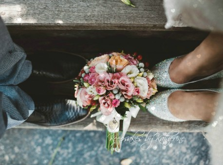 beautiful Dad bridal bouquet locket