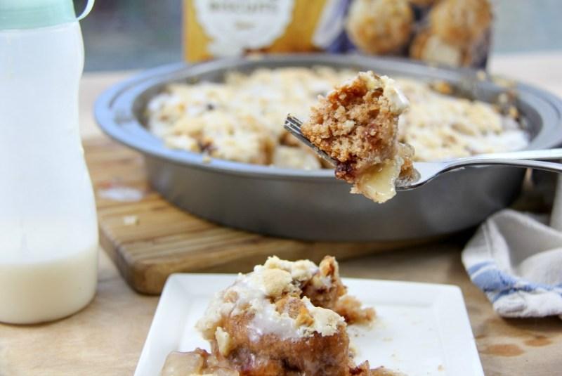 cinnamon apple breakfast bake