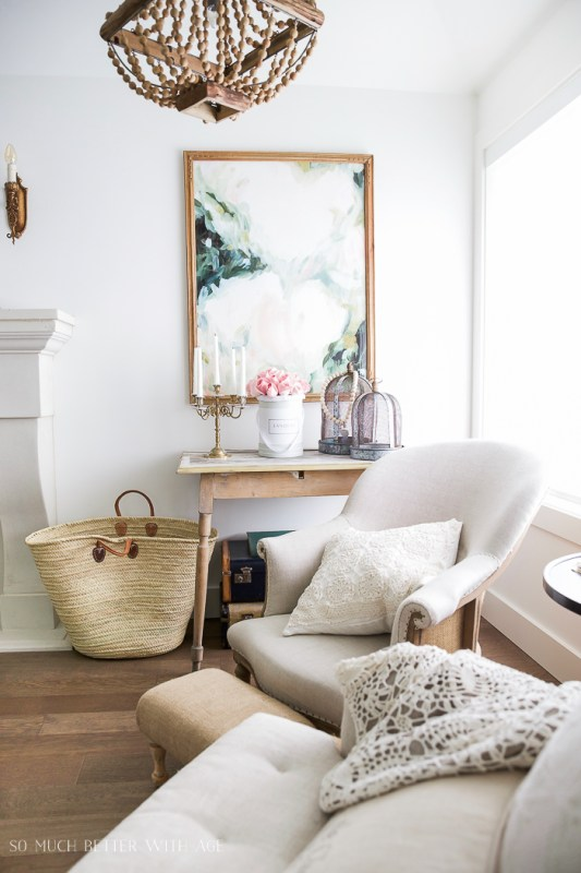 french vintage home tour