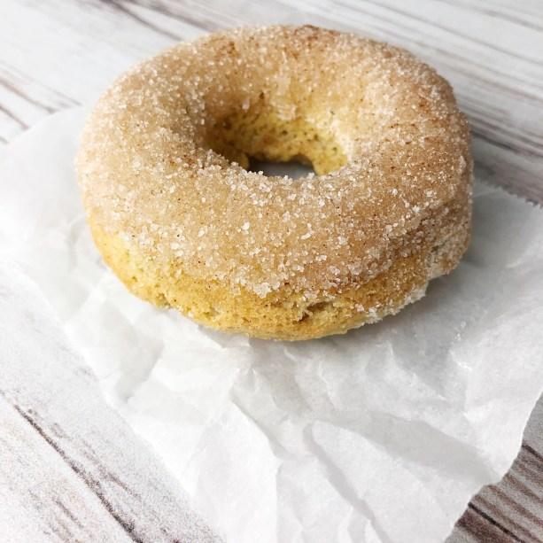 baked coconut flour cinnamon donut recipe