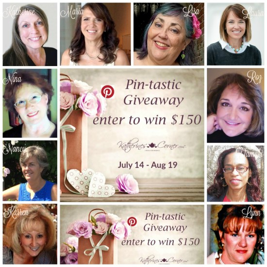 pin-*tastic giveaway hostesses