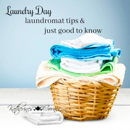 laundry day tips for the laundromat