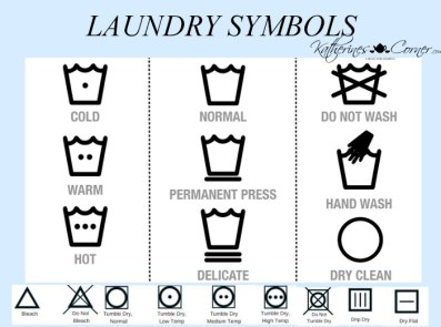 laundry symbols meanings